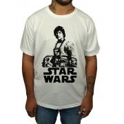 Camiseta Luke Star Wars - Branco