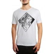 Camiseta HShop Mirror - Branca