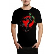 Camiseta HShop Moon Ride Preta