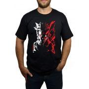 Camiseta Naruto Kyuubi Preto