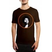 Camiseta HShop Nina Marrom