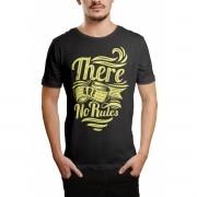 Camiseta HShop No Rules Cinza