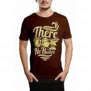 Camiseta HShop No Rules Marrom