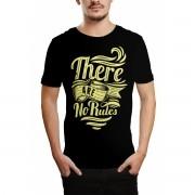 Camiseta HShop No Rules Preto Preto