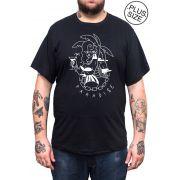 Camiseta Hshop Paradise - Preto - Plus Size - Tamanho Grande XG