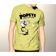 Camiseta HShop Popeye Amarelo