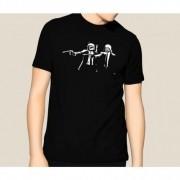 Camiseta HShop Pulp Wars Preto