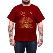 Camiseta Queen - Vinho