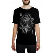 Camiseta HShop Rainha Caveira Preto