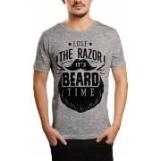 Camiseta HShop Razor Cinza
