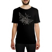 Camiseta HShop Skull Fly - Preta