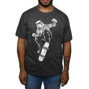 Camiseta Stormtrooper Skate - Cinza Chumbo