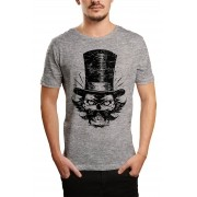 Camiseta HShop The Boss Cinza Mescla