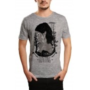 Camiseta HShop The Hunt Cinza Mescla