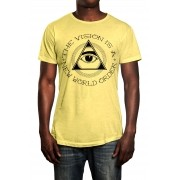 Camiseta HShop The Vision Amarelo