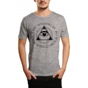 Camiseta HShop The Vision Cinza