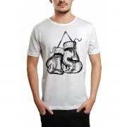 Camiseta HShop Treino de Boxe Branca