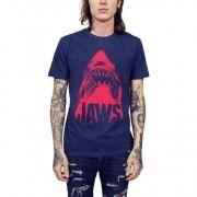 Camiseta HShop Tubarão Azul