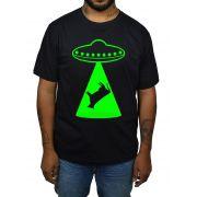 Camiseta HShop Vaca Abduzida