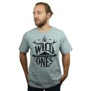 Camiseta HShop  Wild Ones Cinza Mescla