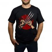 Camiseta Wolverine Brotherhood - Preto