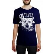 Camiseta HShop Wolves Azul