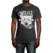 Camiseta HShop Wolves Cinza
