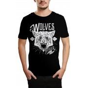 Camiseta HShop Wolves Preto