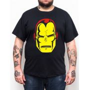 Camiseta Iron Man Vintage - Plus Size - Tamanho XG