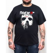 Camiseta Jason SextaFeira 13 - Tamanho Grande Xg