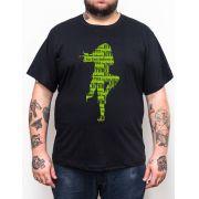 Camiseta Jethro Tull - Plus Size - Tamanho Grande