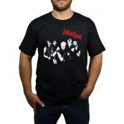 Camiseta Judas Priest - Preta