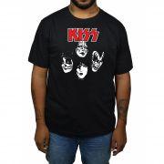 Camiseta KISS - Preta