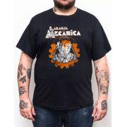 Camiseta Laranja Mecânica Ultraviolence - Plus Size - Tamanho Grande Xg