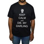 Camiseta Misfits Die Die My Darling - 001