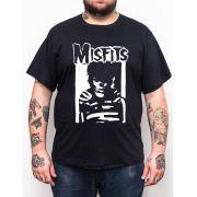 Camiseta Misfits Glen Plus Size - Tamanho Grande