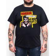 Camiseta Misfits Horror Business Plus Size - Tamanho Grande