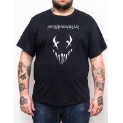 Camiseta Mushroomhead - Preto - Plus Size - Tamanho Grande Xg