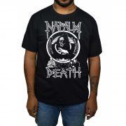 Camiseta Napalm Death - Preta