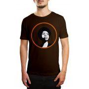 Camiseta Nina Simone - Tamanho G