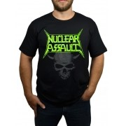 Camiseta Nuclear Assault