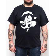 Camiseta Pepe Le Pew - Plus Size - Tamanho XG