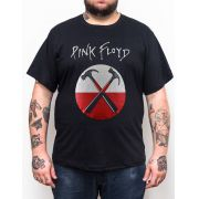 Camiseta Pink Floyd - Martelo - Plus Size - Tamanho Grande