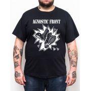 Camiseta Plus Size Agnostic Front - 724