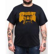 Camiseta Plus Size Breaking Bad Walter - Preto
