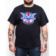 Camiseta Plus Size Cock Sparrer Hooligan
