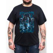 Camiseta Plus Size Darth Vader - Preto