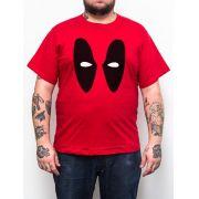 Camiseta Plus Size Deadpool Vermelho - Tamanho XG