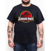 Camiseta Plus Size Jurassic Park