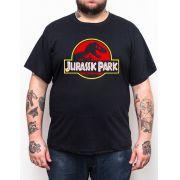 Camiseta Plus Size Jurassic Park - GG1